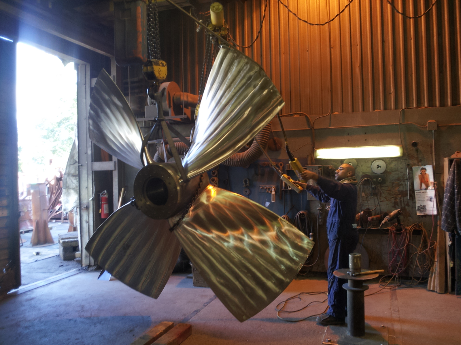 Osborne Propellers Changes Course and Remains the Largest