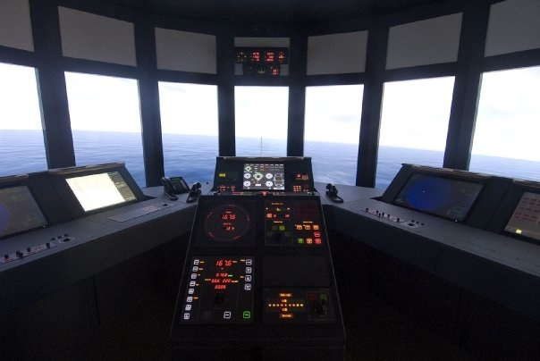 Georgian College's simulator was built and installed in 2008 for approximately $8.5 million dollars.  It comprises four large full mission navigation bridges, one classroom with 12 separate part task trainer bridges and a marine engineering simulator with one large simulated full-mission engine room and an eight-station engine simulator classroom.  The navigation simulator is designed by Transas USA, while the engineering simulator was designed by Kongsberg of Norway.