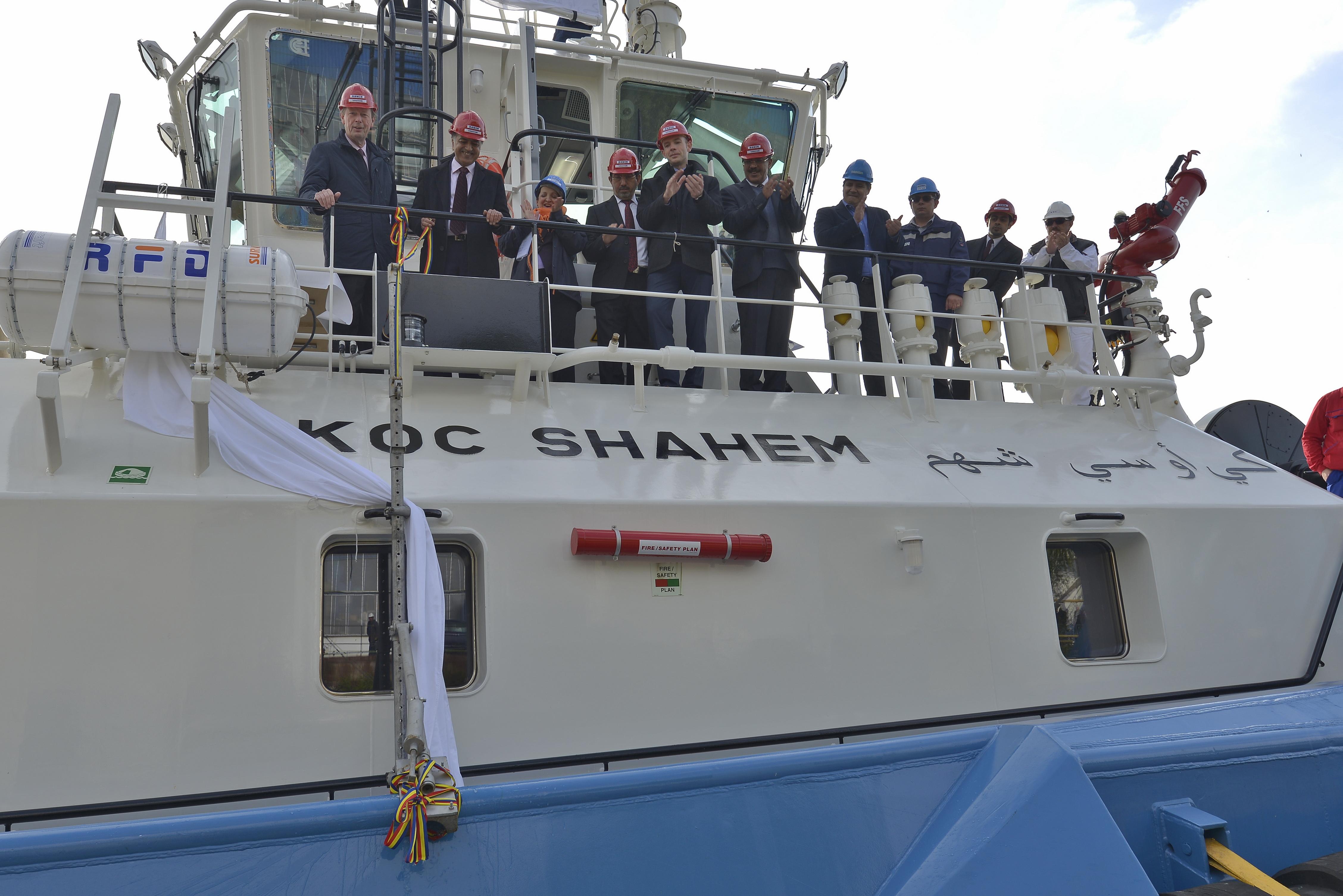 Kuwait Oil Company names latest ASD 3212 tug in Romania
