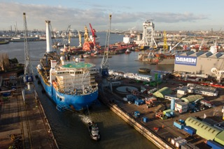 Technip contracts Damen Shiprepair Rotterdam for major upgrade to Global 1200