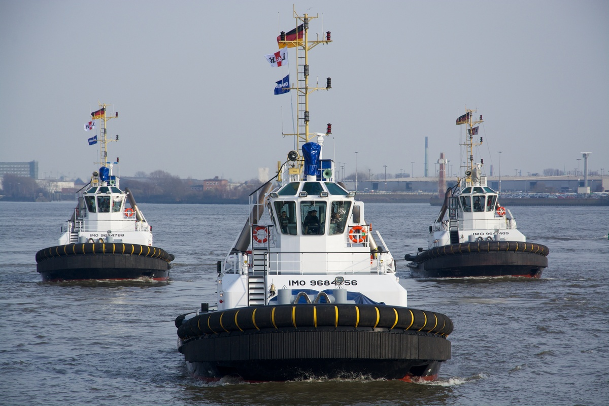 Two ASD 2411 tugs delivered to URAG