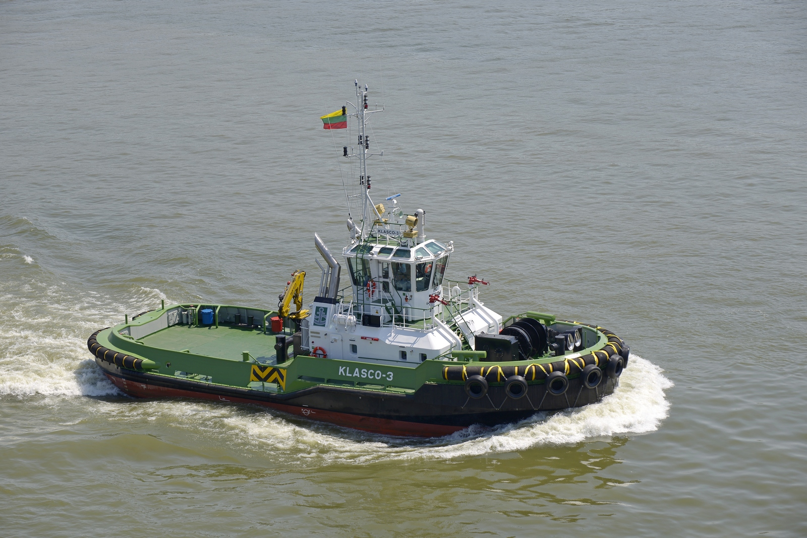 Damen delivers ASD Tug 2810 ICE to Klasco, Lithuania