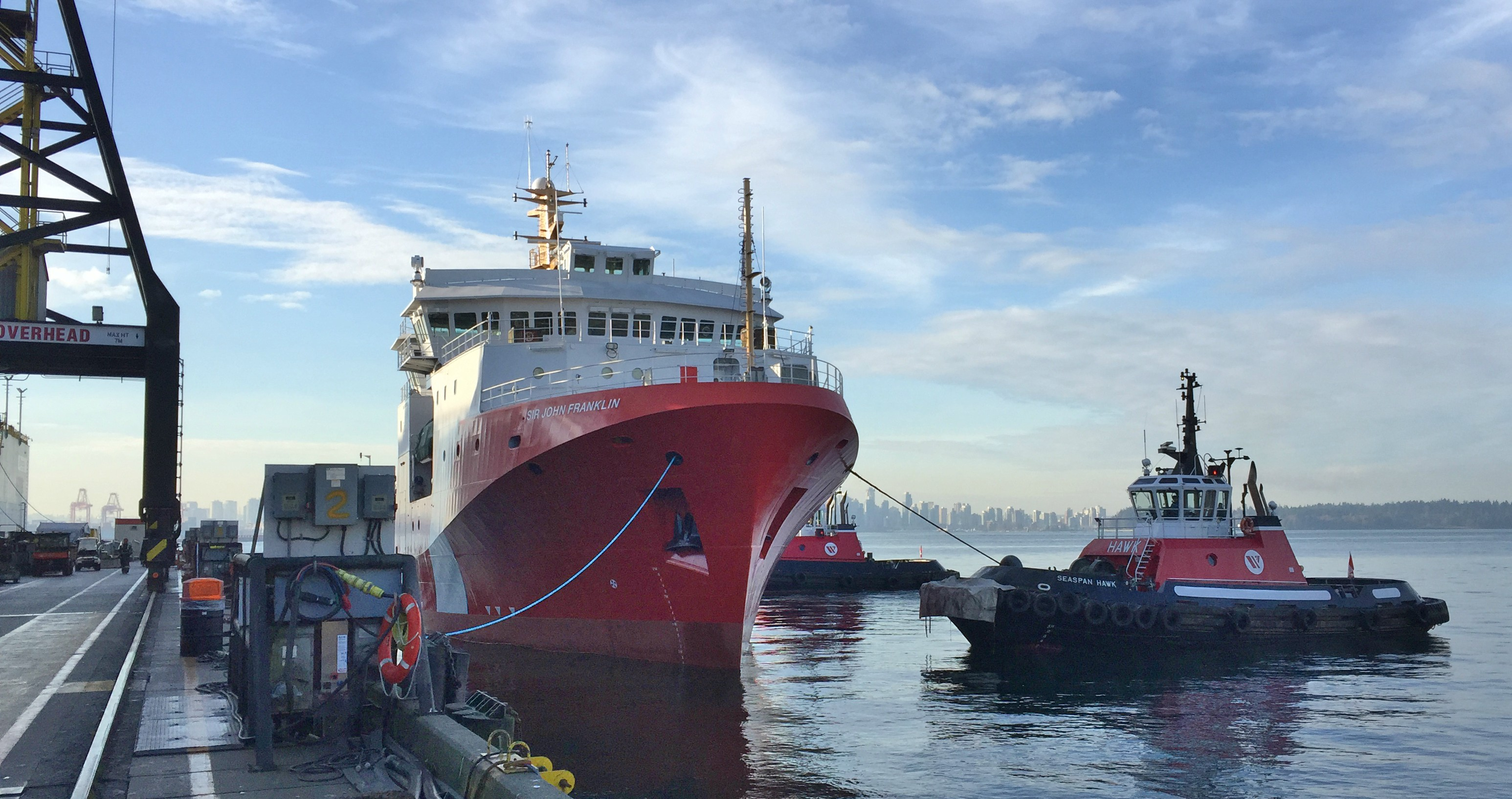 First Large Vessel Launched under National Shipbuilding Strategy