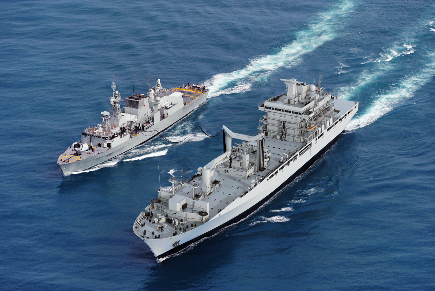 Hepburn Engineering secures contract to provide replenishment systems for Canada's Joint Support Ships