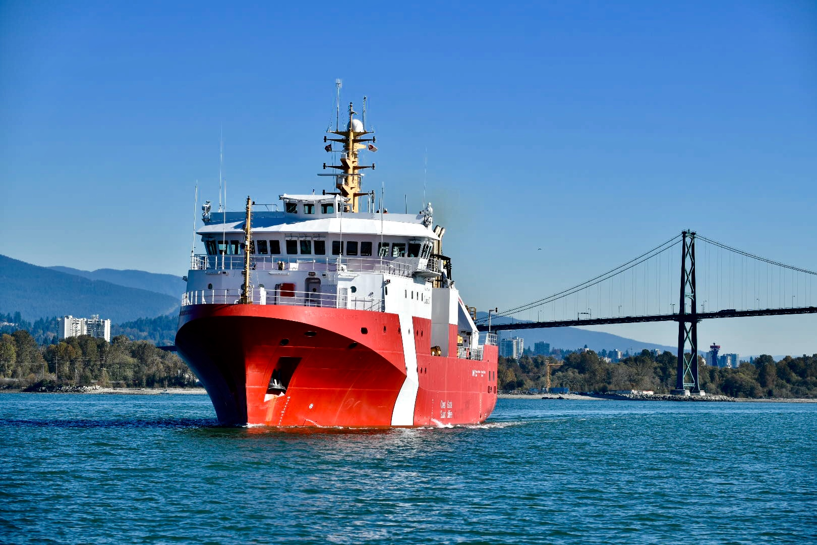 Seaspan Shipyards Momentum Continues as Sea Trials Begin Today for the Second Offshore Fisheries Science Vessel for the Canadian Coast Guard