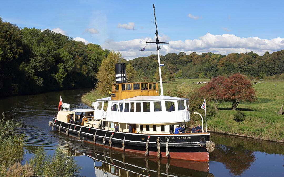 Thordon Bearings help keep world's oldest steam-driven tug operational