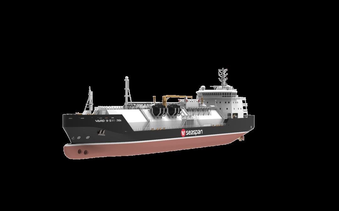 Seaspan LNG secures approval in principle for 7600cbm LNG bunker vessel